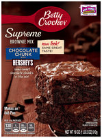 Betty Crocker® Chocolate Chunk Supreme Brownie Mix 18 oz. Box