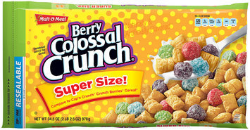 Malt-O-Meal® Berry Colossal Crunch® Cereal 34.5 oz. ZIP-PAK®