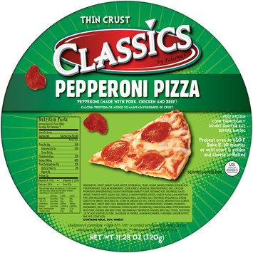 Classics by Palermo's® Pepperoni Thin Crust Pizza 11.28 oz. Wrapper