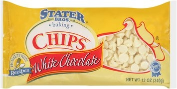 Stater Bros.® White Chocolate Chips 12 oz. Bag