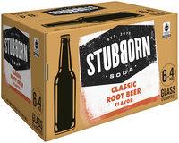 Stubborn Soda™ Classic Root Beer 4-12 fl. oz. Glass Bottle