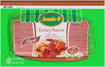 Jennie-O™ Maple Turkey Bacon 12 oz. ZIP-PAK®