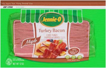 Jennie-O™ Maple Turkey Bacon 12 oz. ZIP-PAK®