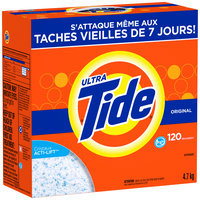 Tide Ultra Original Scent HE Powder Laundry Detergent 169 oz. Box