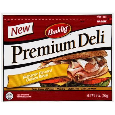 Buddig(TM Premium Deli Rotisserie Flavored Chicken Breast 8 oz. Zip Pak®