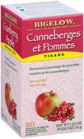 Bigelow® Cranberry Apple Herbal Tea Bags 20 ct Box