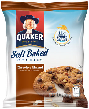 Quaker® Soft Baked Chocolate Almond Cookies