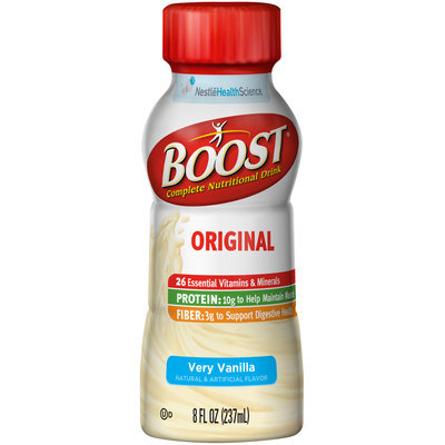 Boost® Original Very Vanilla Complete Nutritional Drink 8 fl. oz. Bottle