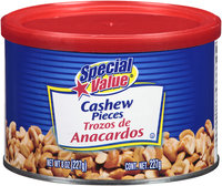 Special Value® Cashew Pieces 8 oz. Canister