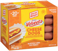 Oscar Mayer Velveeta Cheese Dogs 20 ct Box