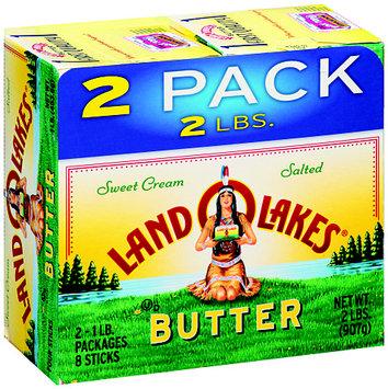 Land O'Lakes® Sweet Cream Salted Butter Sticks 2-1 lb. Packs