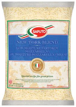 Saputo® New York Low Moisture Part Skim Mozzarella & Low Moisture Mozzarella Cheese Blend 5 Lb Bag