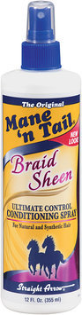 Mane 'n Tail® Braid Sheen Conditioning Spray Ultimate Control 12 fl oz