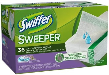 Swiffer Sweeper Wet Refill with Febreze Lavender & Vanilla 36 count