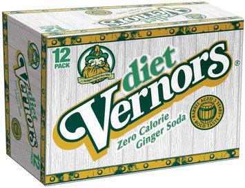 Vernors Diet 12 Oz Ginger Soda 12 Pk Cans