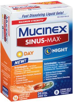 Mucinex® Sinus-Max® Day/Night Liquid Gel 24 ct. Box