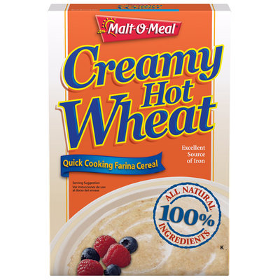 Malt-O-Meal® Creamy Hot Wheat Cereal 28 oz. Box