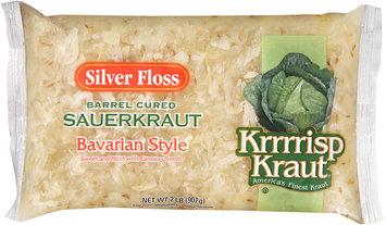 Silver Floss Krrrrisp Kraut® Bavarian Style Barrel Cured Sauerkraut 32 oz. Bag