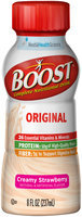 Boost® Original Creamy Strawberry Complete Nutritional Drink 8 fl. oz. Bottle