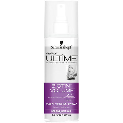 Schwarzkopf Essence Ultime® Biotin+ Volume™ Daily Serum Spray 6.8 fl. oz. Spray Bottle