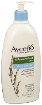 Aveeno® Active Naturals® Sheer Hydration Daily Moisturizing Lotion 18. fl. oz. Pump