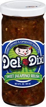 Del-Dixi® Sweet Jalapeno Relish 8 fl. oz. Jar