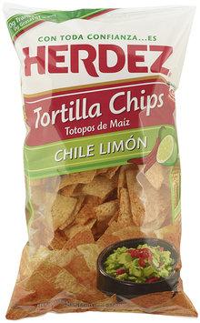 Herdez® Chile Limon Tortilla Chips 11 oz. Bag