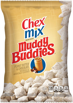 Chex Mix® Muddy Buddies® Peanut Butter and Chocolate Snack Mix 6.25 oz. Bag