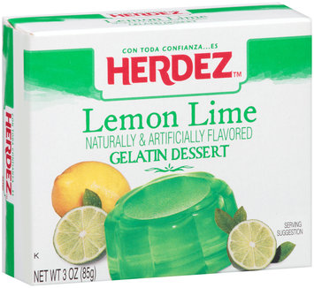 Herdez™ Lemon Lime Gelatin Dessert 3 oz. Box