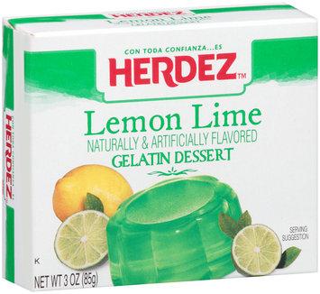 Herdez™ Lemon Lime Gelatin Dessert 3 oz. Box