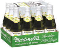 Martinelli's® Sparkling White Grape 100% Juice from Concentrate