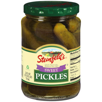 Steinfeld's® Sweet Pickles 24 fl. oz.