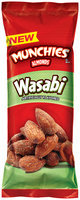 Munchies® Wasabi Almonds 1.5 oz. Pouch