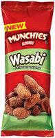 Munchies® Wasabi Almonds 1.5 oz. Pouch