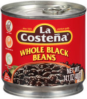 La Costena® Whole Black Beans 14.1 oz. Can