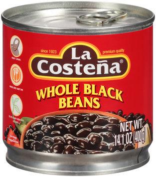 La Costena® Whole Black Beans 14.1 oz. Can