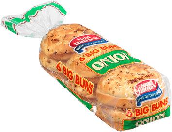 Aunt Hattie's® Big Onion Buns 6 ct Bag