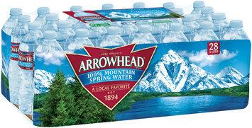 Arrowhead Mountain Spring Water Value Pack 28-0.5L Plastic Bottles