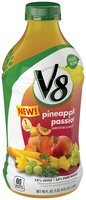 V8® Pineapple Passion Fruit Beverage 46 fl oz Bottle