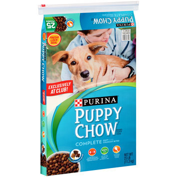 Purina Puppy Chow Complete Puppy Food 25 lb. Bag