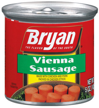 Bryan  Vienna Sausage 5 Oz Can
