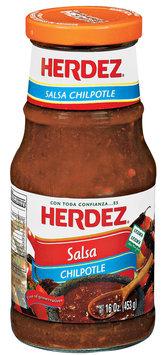 Herdez® Chilpotle Salsa 16 oz. Jar
