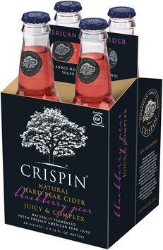 Crispin® Blackberry Pear Hard Cider 4-12 fl. oz. Glass Bottles