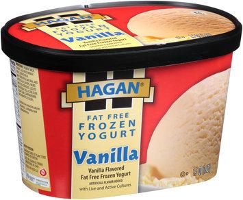 Hagan® Fat Free Vanilla Frozen Yogurt 1.5 qt. Carton