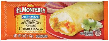 El Monterey® Chicken & Monterey Jack Cheese Chimichanga 5 oz.