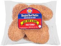 Advance Fast Fixin' Breaded Beef Patties 28 oz. Packet