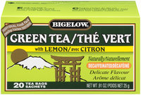 Bigelow® Lemon Decaffeinated Green Tea Bags 20 ct Box