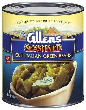 The Allens Cut Italian Seasoned Green Beans 106 Oz Can