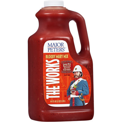 Major Peters'® The Works Bloody Mary Mix 64 fl. oz. Jug