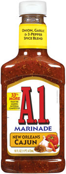 A 1 New Orleans Cajun Marinade 16 Fl Oz Squeeze Bottle
